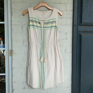Anthropologie Kenji embellished sleeveless dress